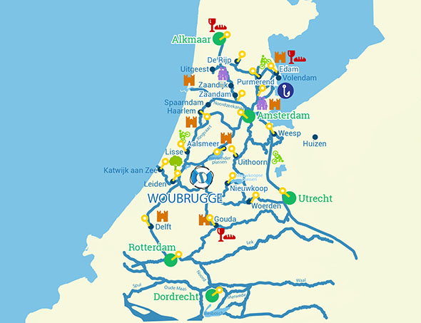 Tourist attractions in Holland